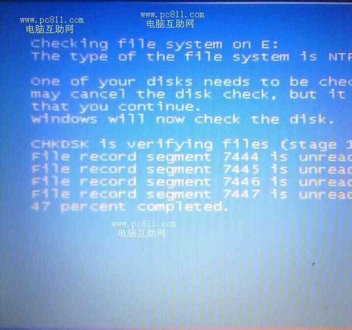 系统盘转换ntfs过程